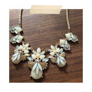 Francesca's   Embellished Statement Necklace